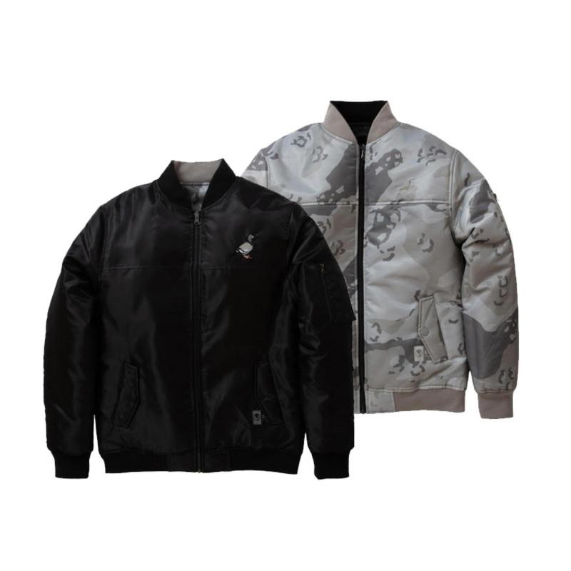 Staple Pigeon - Reversible Bomber Jacket