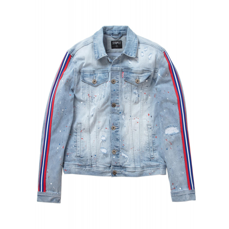Staple Pigeon - Drip Denim Jacket