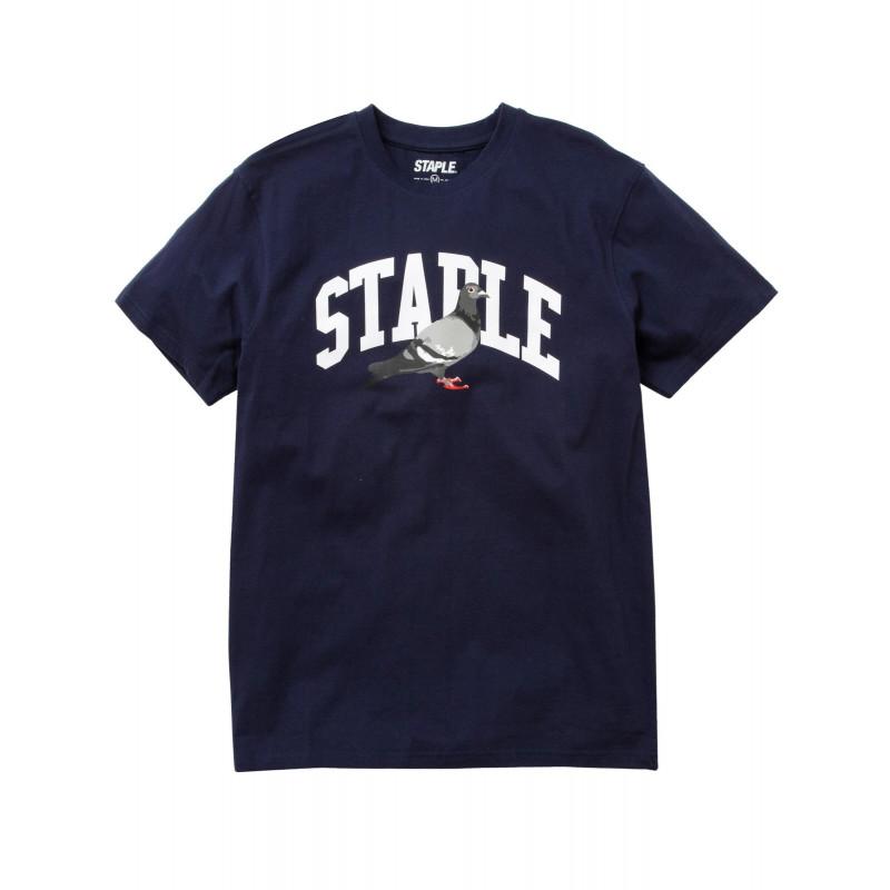 Staple Pigeon - Collegiate Pigeon Tee Navy 1