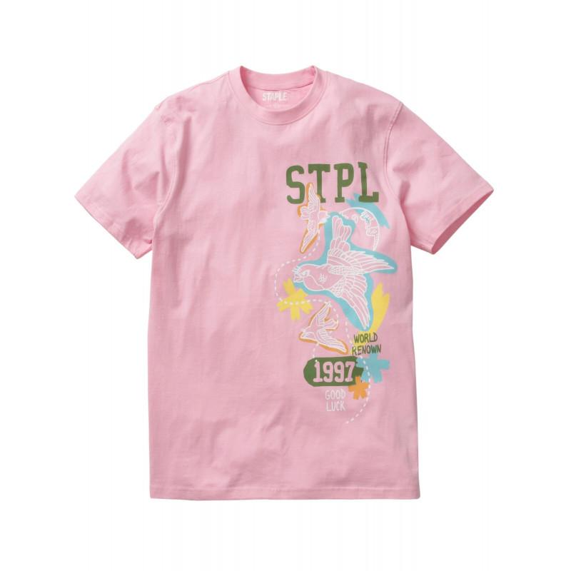 Staple Pigeon - Souvenir STPL Tee Pink 1