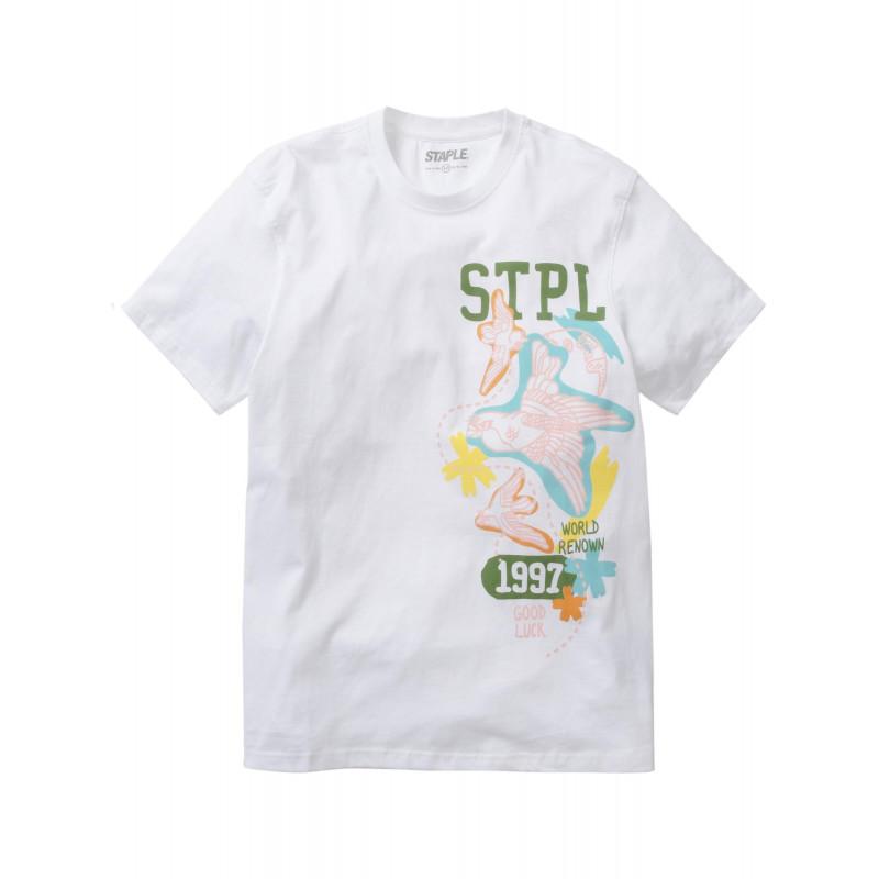 Staple Pigeon - Souvenir STPL Tee White 1