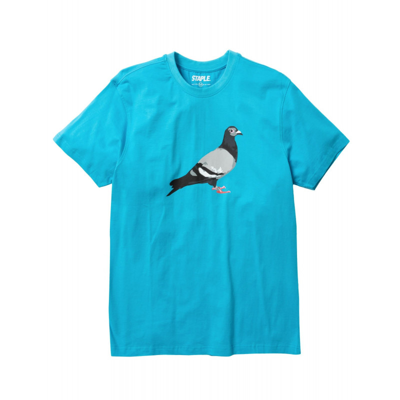 Staple Pigeon - Pigeon Logo Tee Blue 1