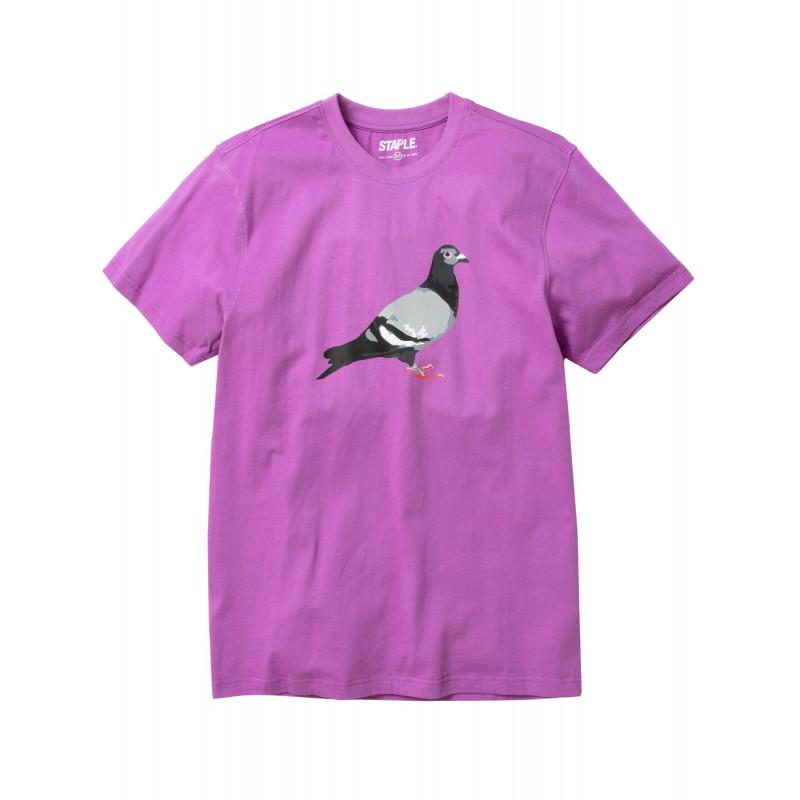 Staple Pigeon - Pigeon Logo Tee Violet 1