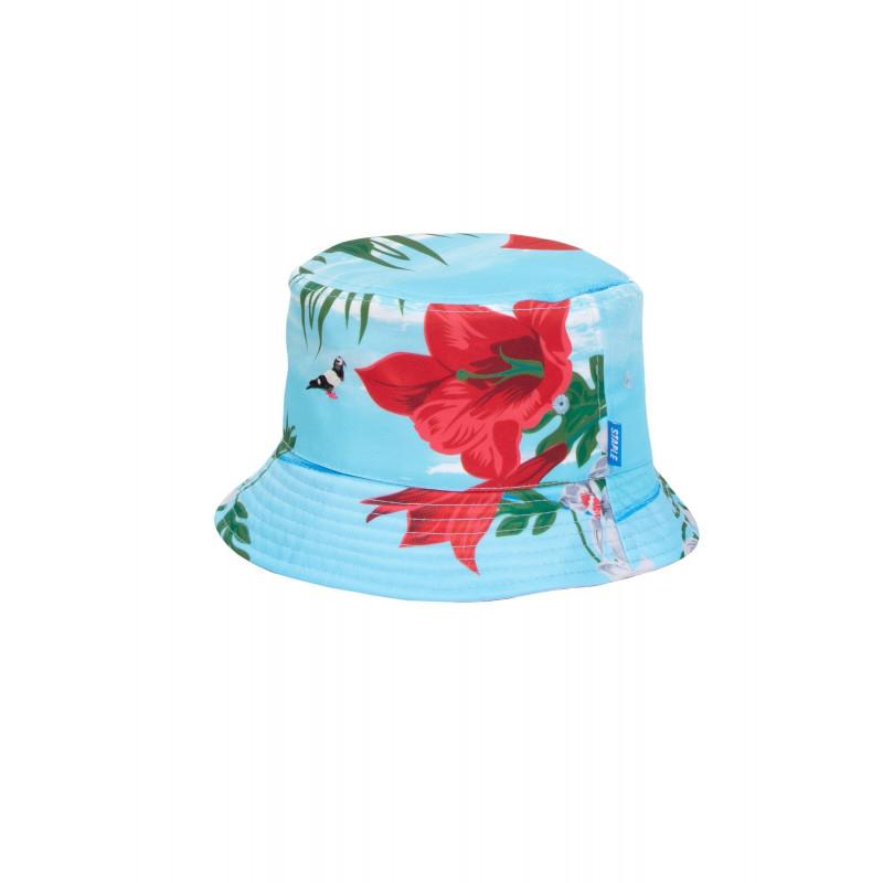 Staple Pigeon - Printed Bucket Hat Blue 1
