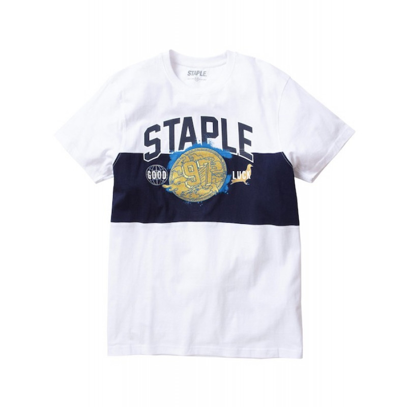 Staple Pigeon - Gold Medal Embroidered Tee