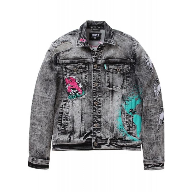 Staple Pigeon - Rebels Denim Jacket