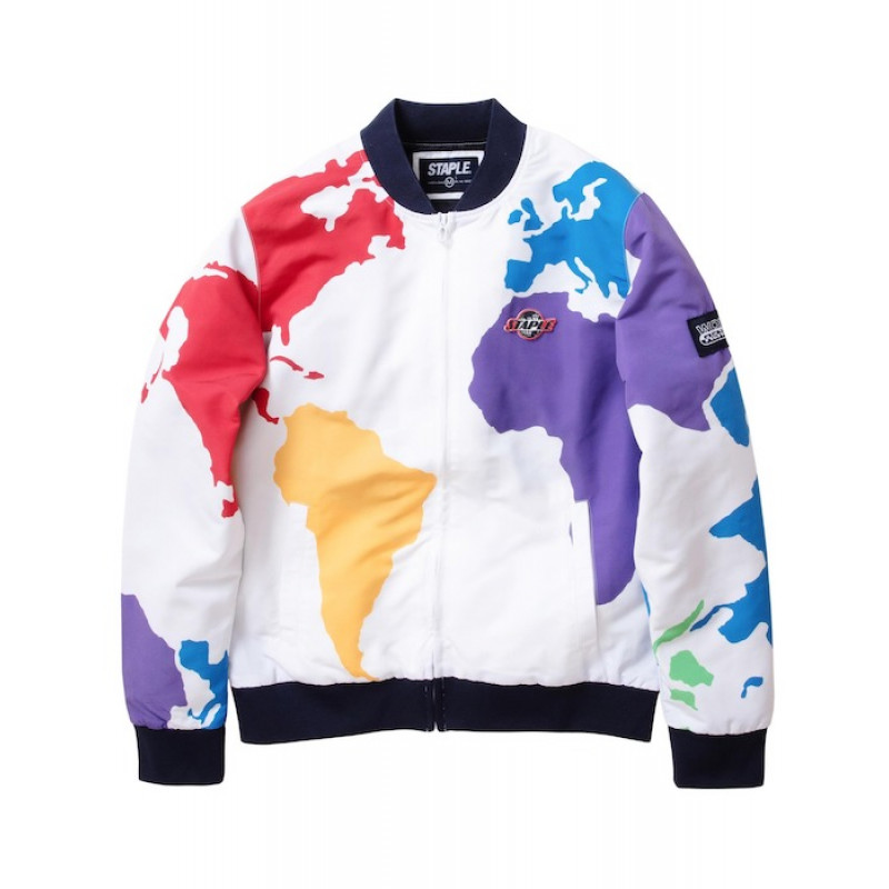 Staple Pigeon - World Sport Bomber Jacket
