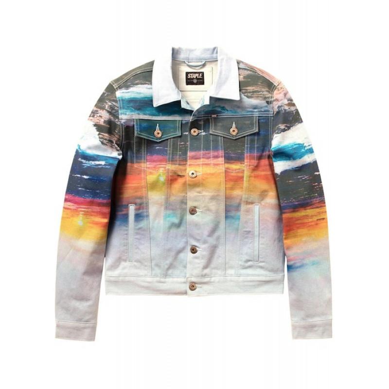 Staple Pigeon - Sunset Denim Jacket