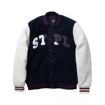 Staple Pigeon - Sherpa Baseball Jacket