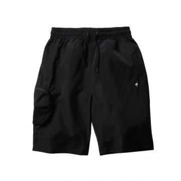 Staple Pigeon - Nylon Cargo Shorts Black 1