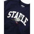 Staple Pigeon - Collegiate Pigeon Tee Navy 2