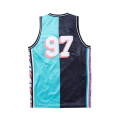 Staple Pigeon - Collegiate Basketball Jersey Teal 2