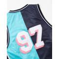 Staple Pigeon - Collegiate Basketball Jersey Teal 4