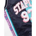 Staple Pigeon - Collegiate Basketball Jersey Teal 5