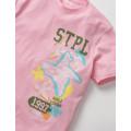 Staple Pigeon - Souvenir STPL Tee Pink 2
