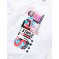 Staple Pigeon - Neon Sport Tee White 2