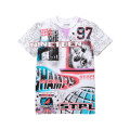 Staple Pigeon - All Over Print Champs Tee White 1