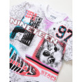 Staple Pigeon - All Over Print Champs Tee White 2