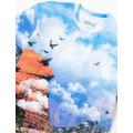 Staple Pigeon - Canyon All Over Print Tee Multi 3
