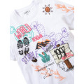 Staple Pigeon - Trails All Over Print Tee White 2