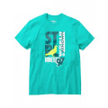 Staple Pigeon - Court Vision Graphic Tee Teal 1