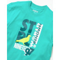 Staple Pigeon - Court Vision Graphic Tee Teal 2