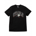 Staple Pigeon - Collegiate Stack Logo Tee Black 1